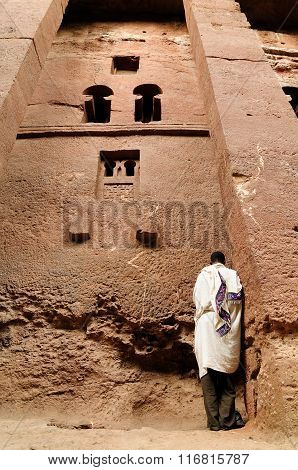 Ethiopians Of Orthodox Faith In Lalibela