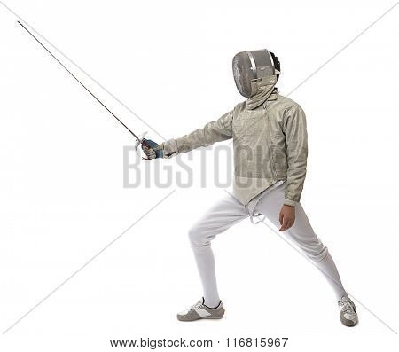 Foil Fencer Full Length