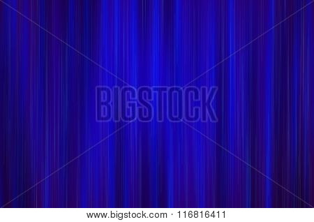 Blue drapery
