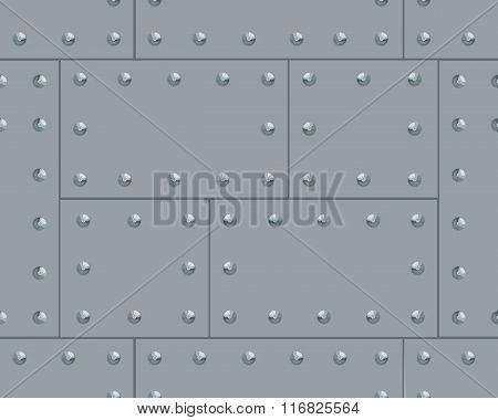 Grey Metalic Pattern