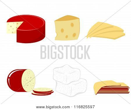 Six Kind Of Cheese