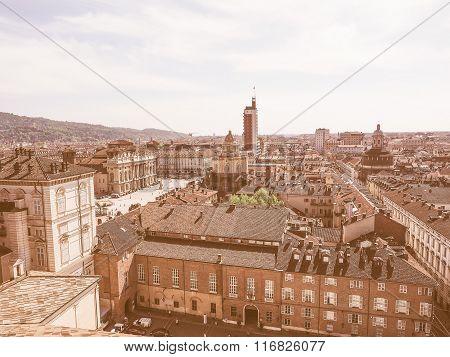 Piazza Castello Turin Vintage