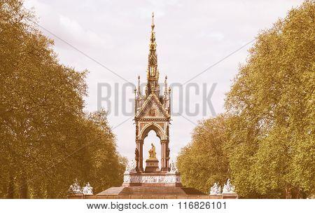 Albert Memorial, London Vintage