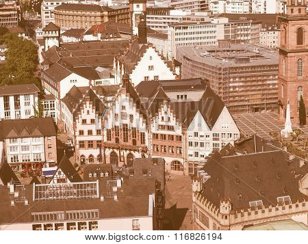 Frankfurt City Hall Vintage