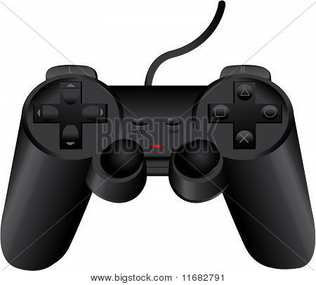 Vector Black Gamepad Eps8