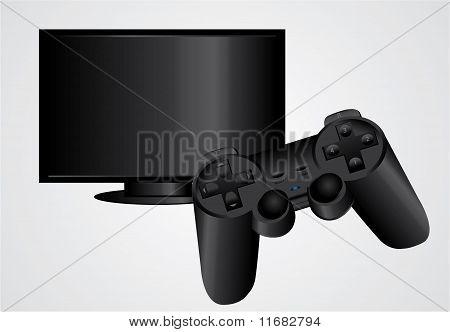 Gamepad And Tv