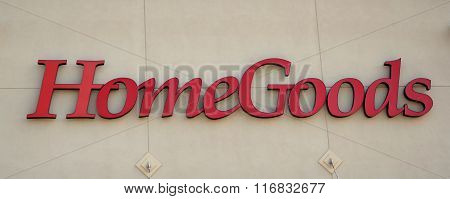 Homegoods Store Logo