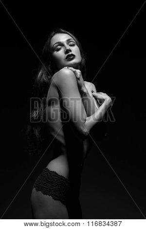 Sensual Luxury Woman