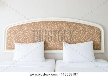 Double White Pillow