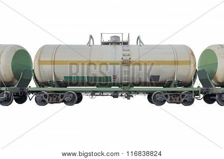Tanker Cars In The Train