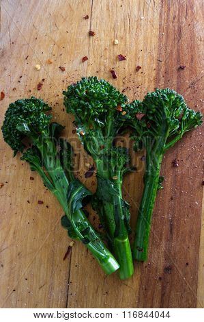 Fresh Steamed Broccolini