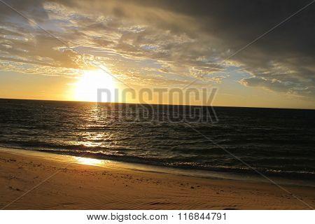 Sunset at Cape Range National Park, Western Australia