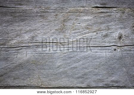 Old Wood Panel Made Of Wood.