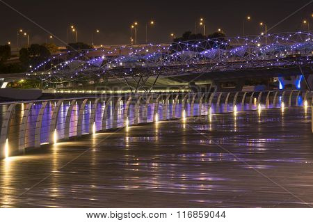Night City Walkway