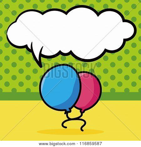 Balloon Color Doodle