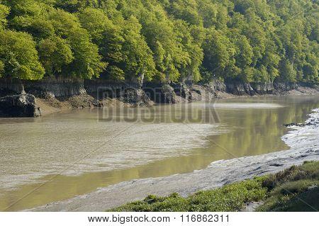 River Wye At Lancaut
