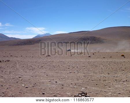 Desierto Colorado At Bolivia Altiplano Desert