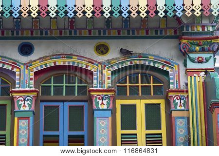 Indian Architecture Colors