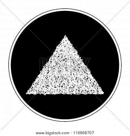 Simple Doodle Of A Triangle