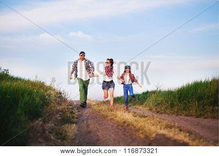family run road