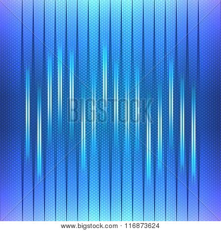 Abstract Background, Blue Equalizer