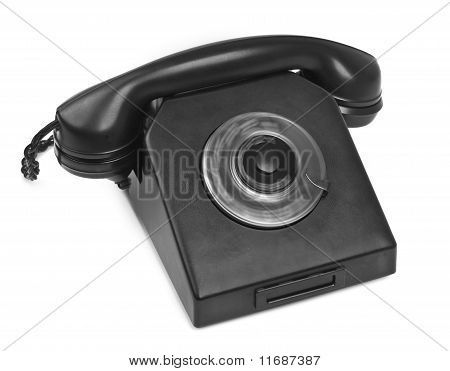 Bakelite Telephone With Spining Dial