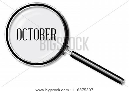 October Magnifying Glass