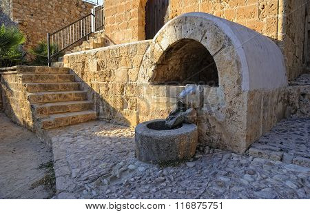 Old source of ancient Monastery of Agia Napa, Cyprus