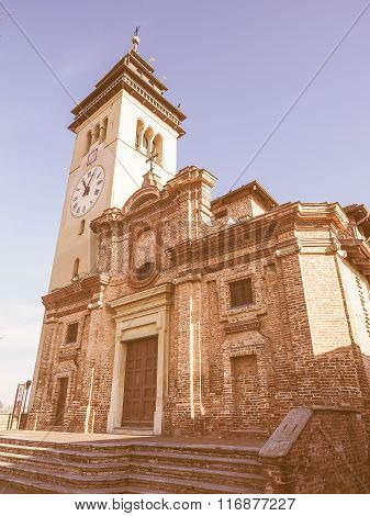 San Giorgio Church In Chieri Vintage