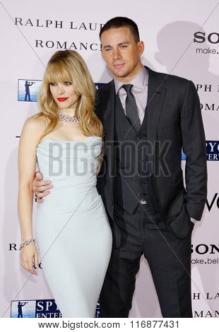 Channing Tatum and Rachel McAdams at the Los Angles Premiere of