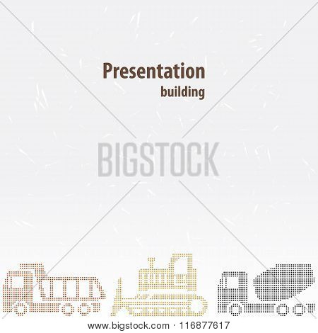 Presentation template for the construction business