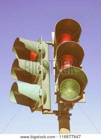 Traffic Light Vintage