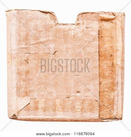 Grunge Cardboard Box Vintage