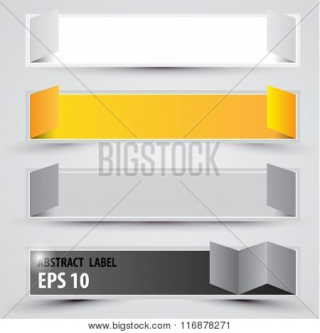 Advertising banners. Vector.