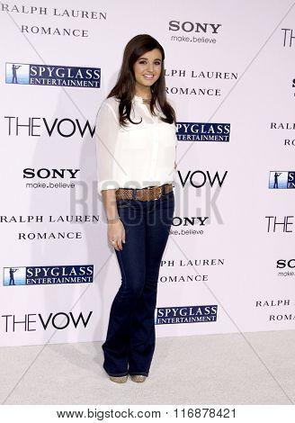 Rebecca Black at the Los Angles Premiere of