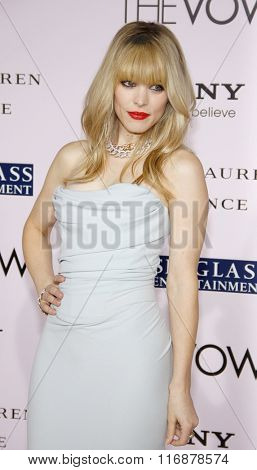 Rachel McAdams at the Los Angles Premiere of