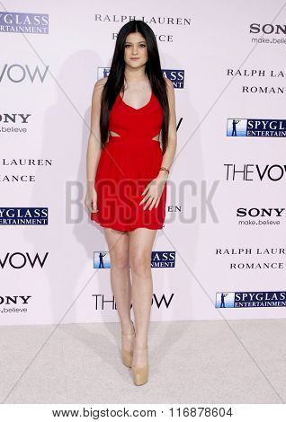 Kylie Jenner at the Los Angles Premiere of