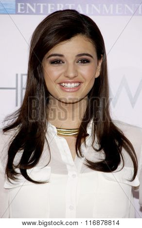 Rebecca Black at the Los Angeles Premiere of