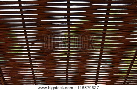 wooden window louver texture and background