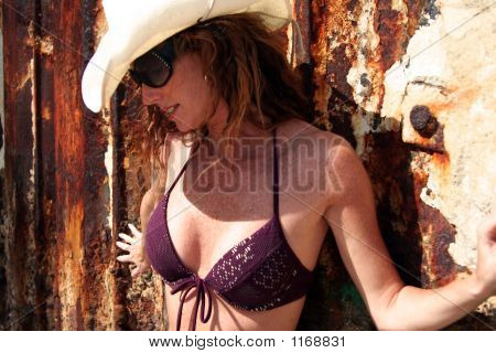 Girl With Seawall