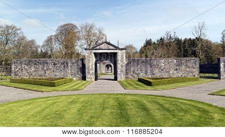 Entrance To Portumna Castle