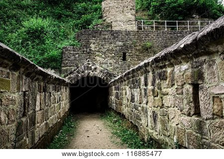 Tunnel Entrance To The Old Fortress