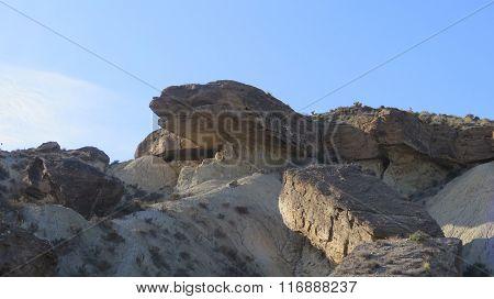 Rocks In Tabernas Desert