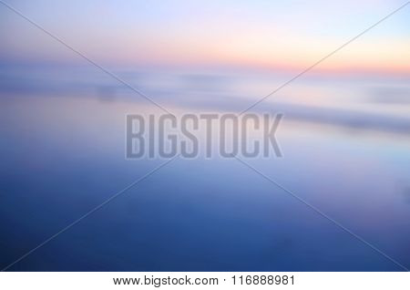 Blurred Sunrise Background, the Natural Lighting Phenomena.