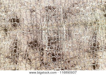 Mottled Worn Brown Cream Material Texture