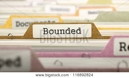 Bounded - Folder Name in Directory.