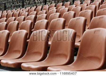 Empty Tribunes Sedentary Places