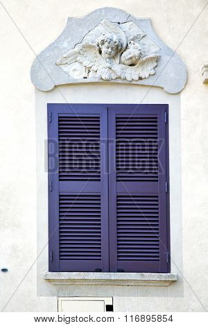 Grey Window Jerago Palaces Italy   Abstract