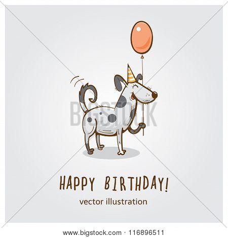 Vector Birhday Card.