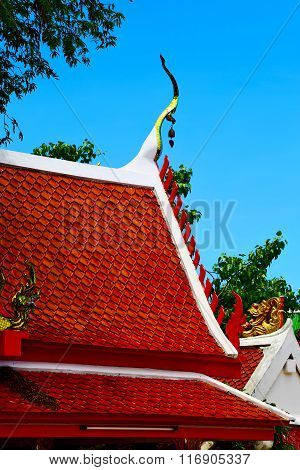 Kho Samui Bangkok   Thailand Incision Of Roof
